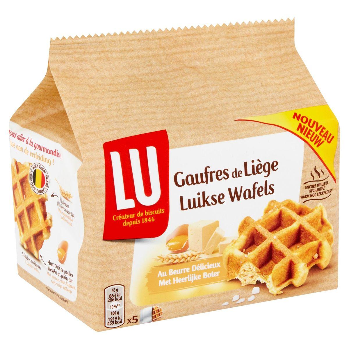 LU Gaufres de Liège au Beurre Délicieux 225 g
