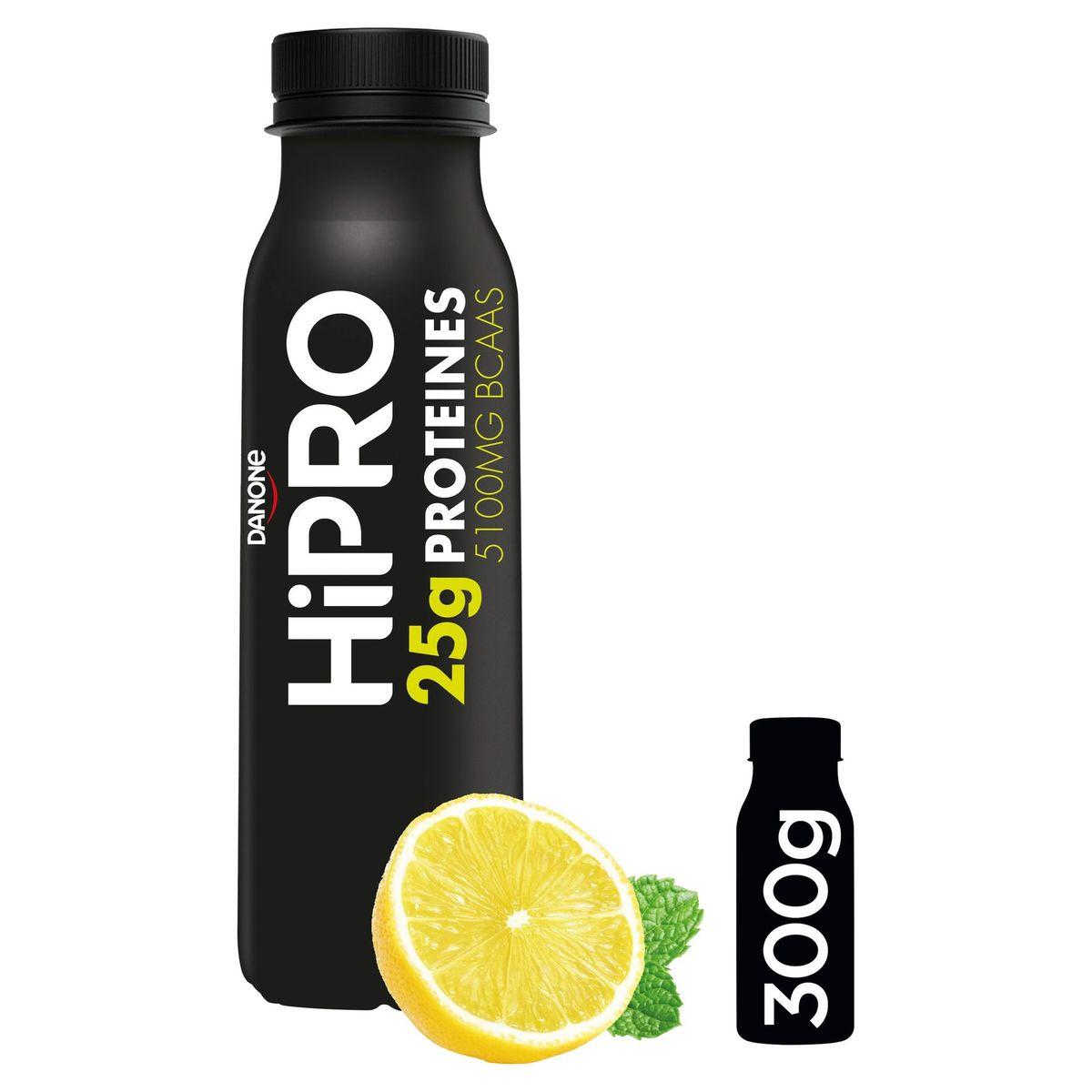 HiPRO à Boire Saveur Citron-Saveur Menthe avec 25 g de Protéines 300 g