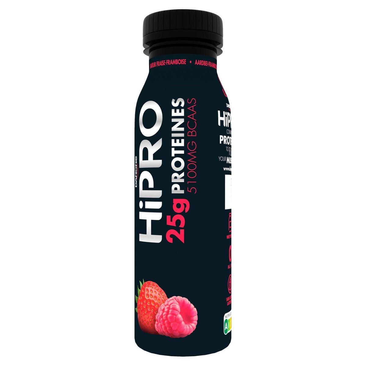 HiPRO à Boire Saveur Fraise-Framboise avec 25 g de Protéines 300 g