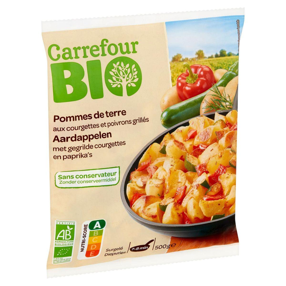 Carrefour Bio Aardappelen met Gegrilde Courgettes en Paprika's 500 g