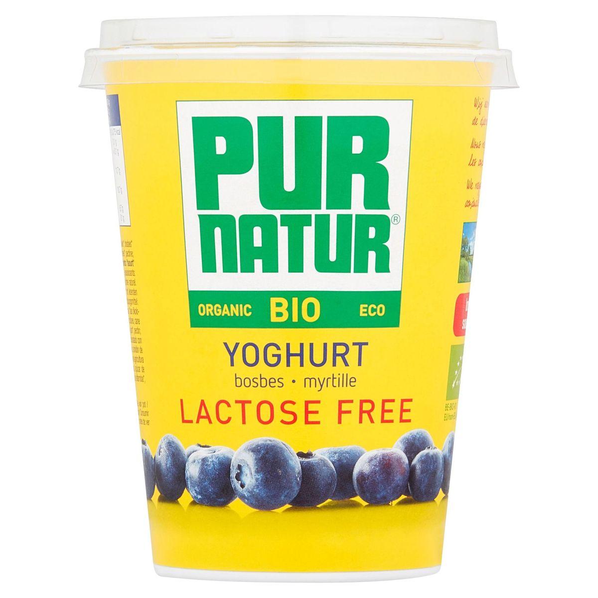Pur Natur Bio Yoghurt Myrtille Lactose Free 400 g