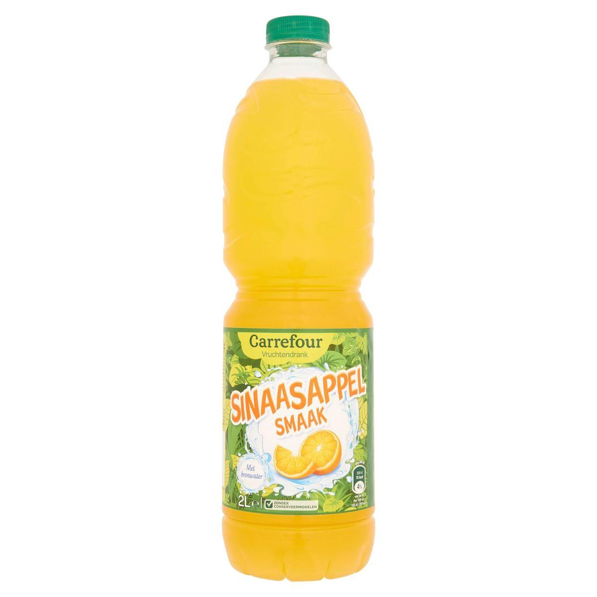 Carrefour Sinaasappelsmaak 2 L