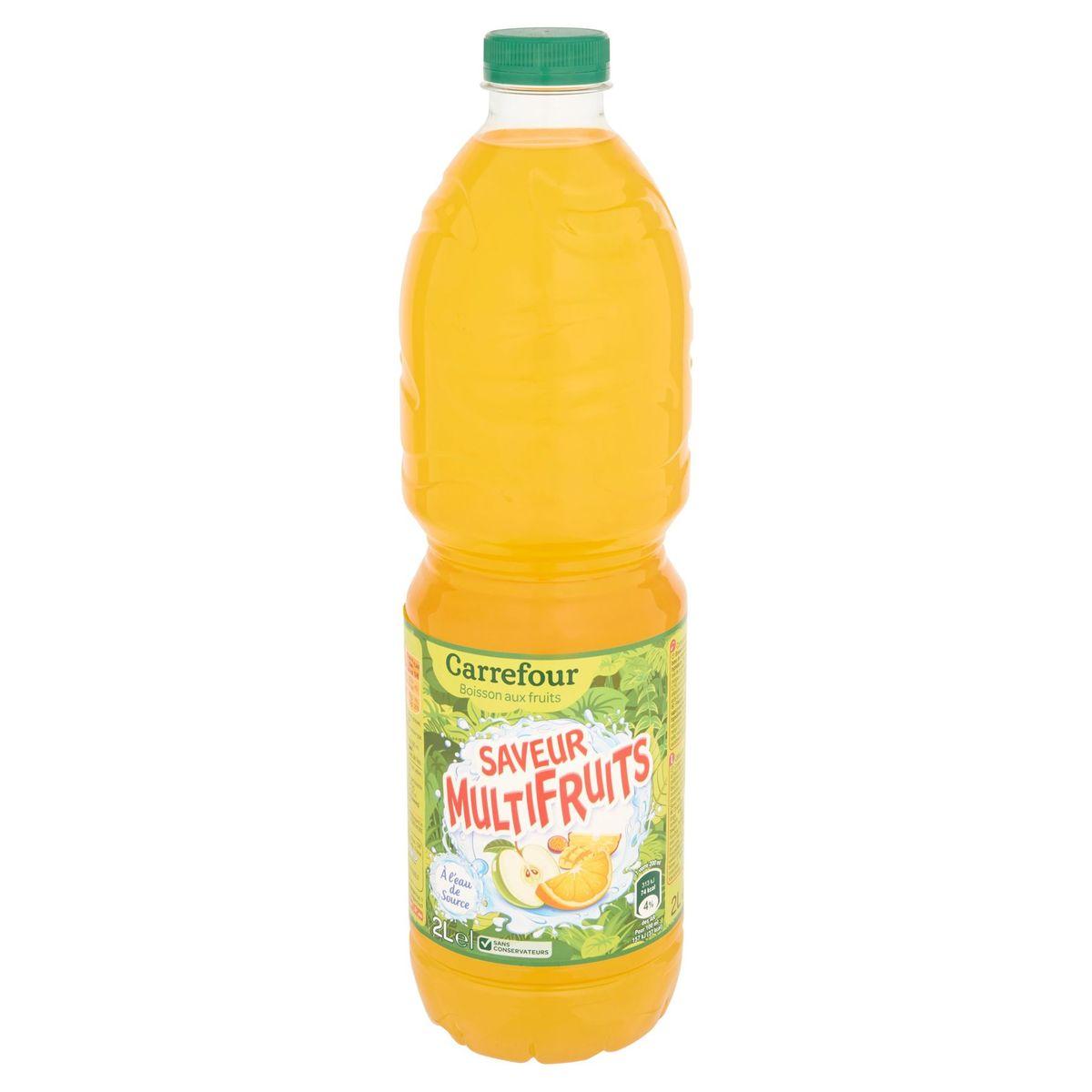 Carrefour Vruchtendrank Multivruchten Smaak 2 L