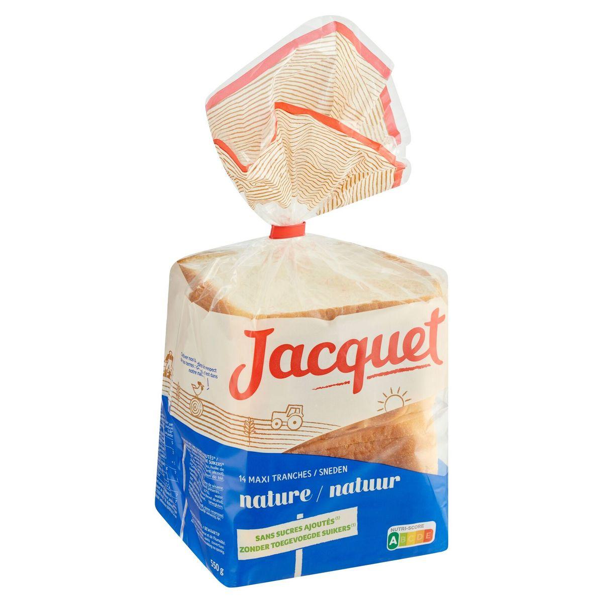 Jacquet Nature 14 Maxi Tranches 550 g