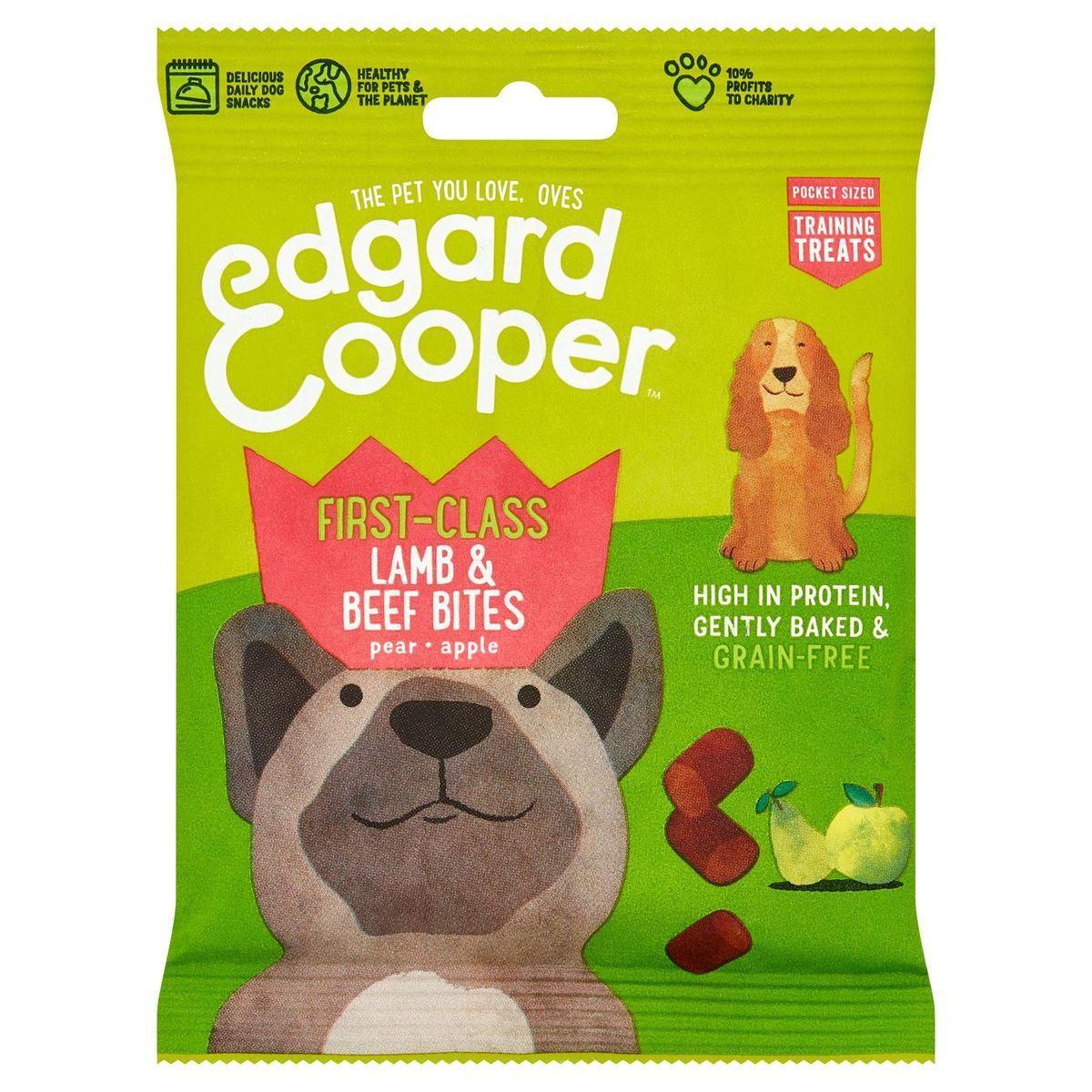 Edgard & Cooper First-Class Lamb & Beef Bites Pear Apple 50 g