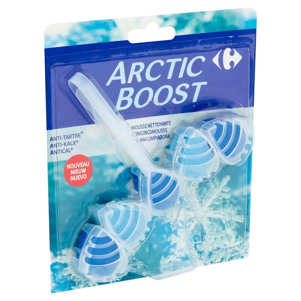 Carrefour Reinigingsmousse Arctic Boost 55 g