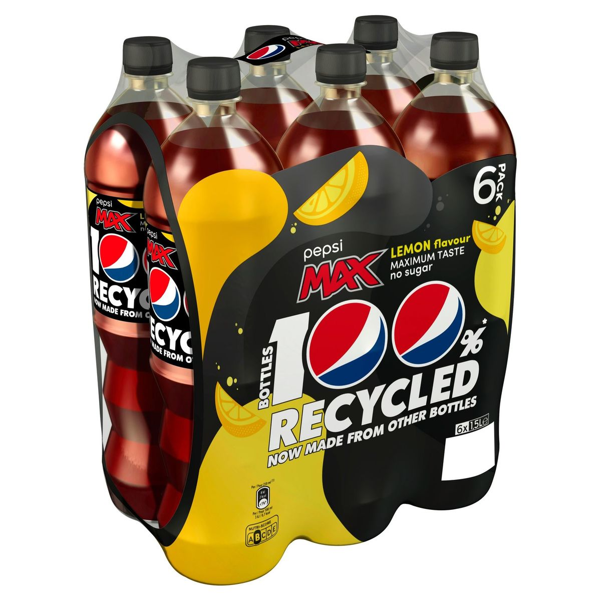 Pepsi Max Cola Lemon 6x1.5 L