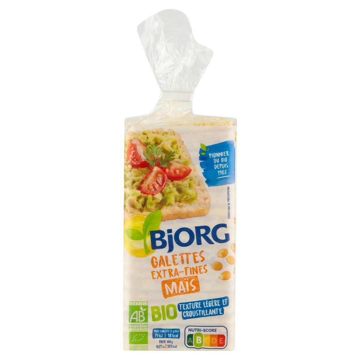 Bjorg Galettes Extra-Fines Maïs Bio 130 g