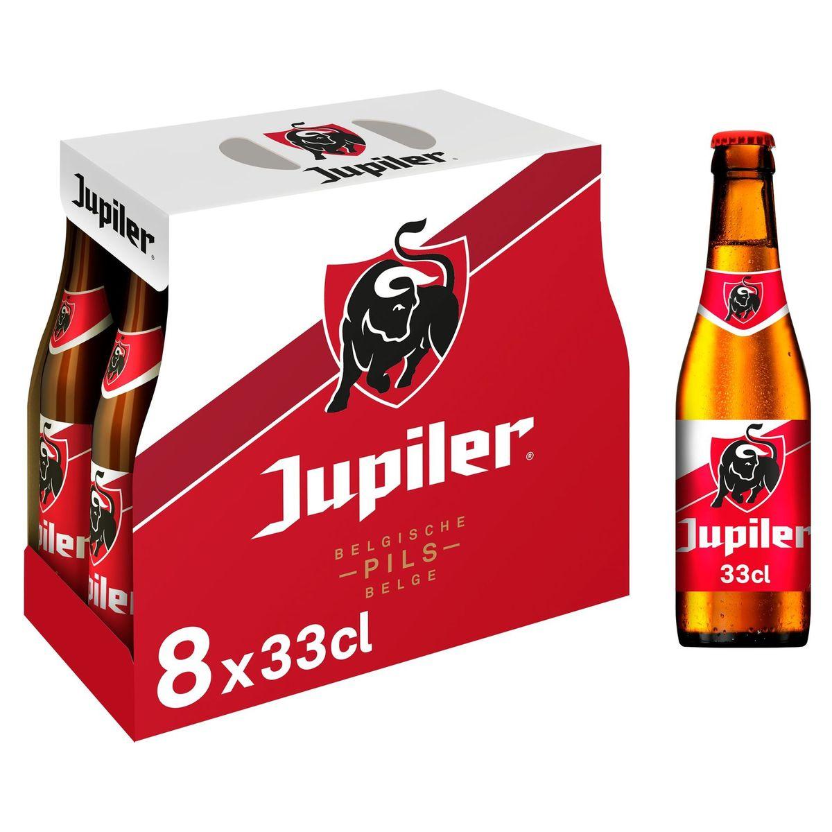 Jupiler Belgische Pils 8 x 33 cl