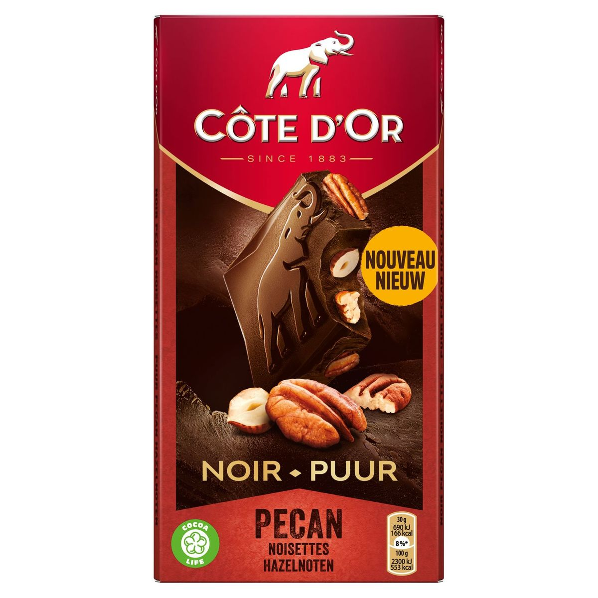 Côte d'Or Bloc Nootjes Pecan 180 gr