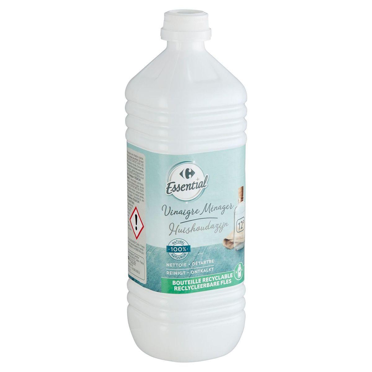Carrefour Essential Huishoudazijn 12° 1 L
