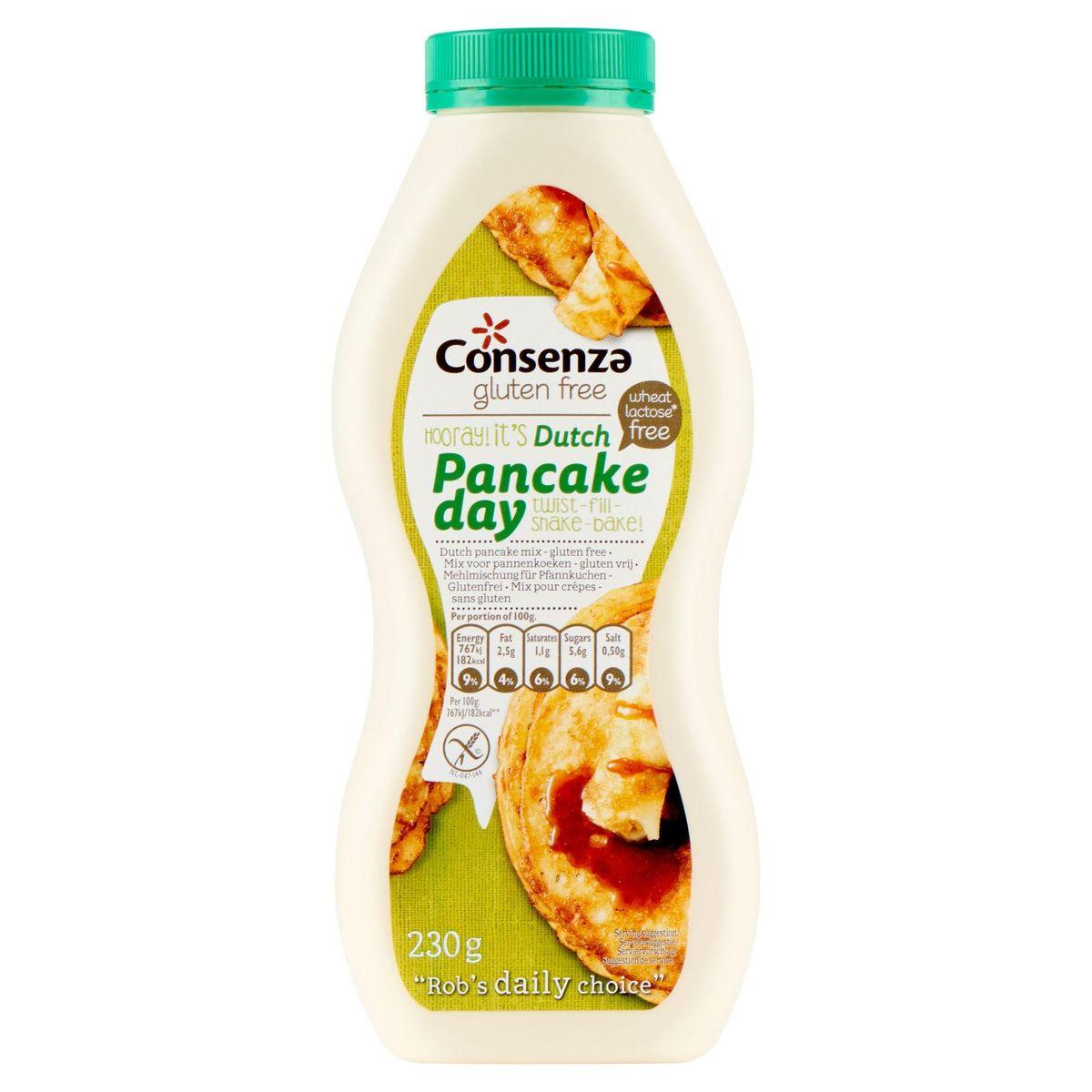 Consenza Mix pour Crêpes - sans Gluten 230 g