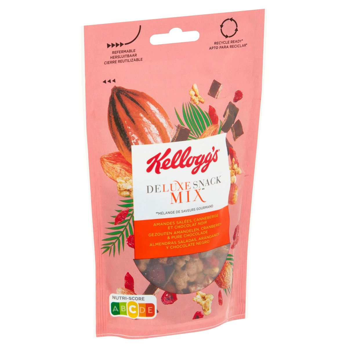 Kellogg's Deluxe Snack salted almond, cranberry &dark chocolate 100g