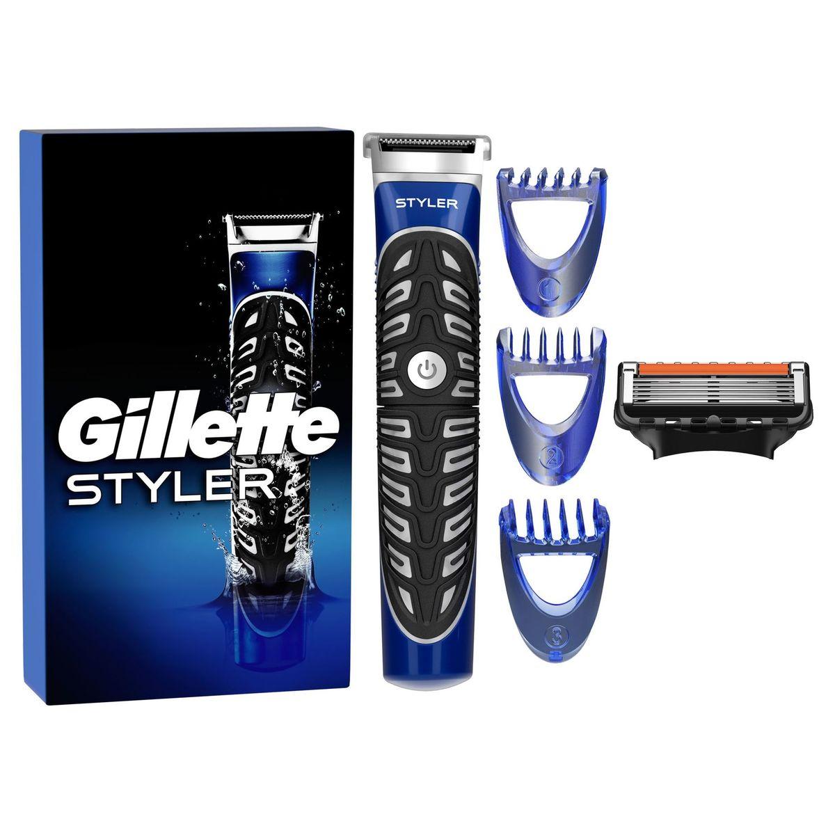 Gillette 4-in-1 Body- en Baardtrimmer, Scheerapparaat en Contourmes