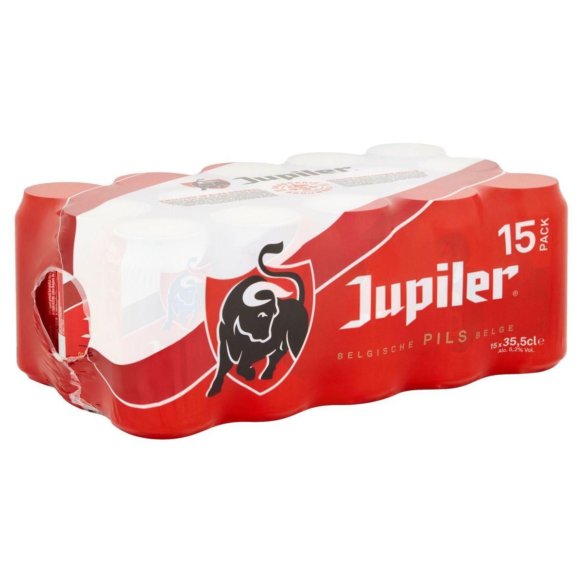 Jupiler Belgische Pils Blikken 15 x 35.5 cl