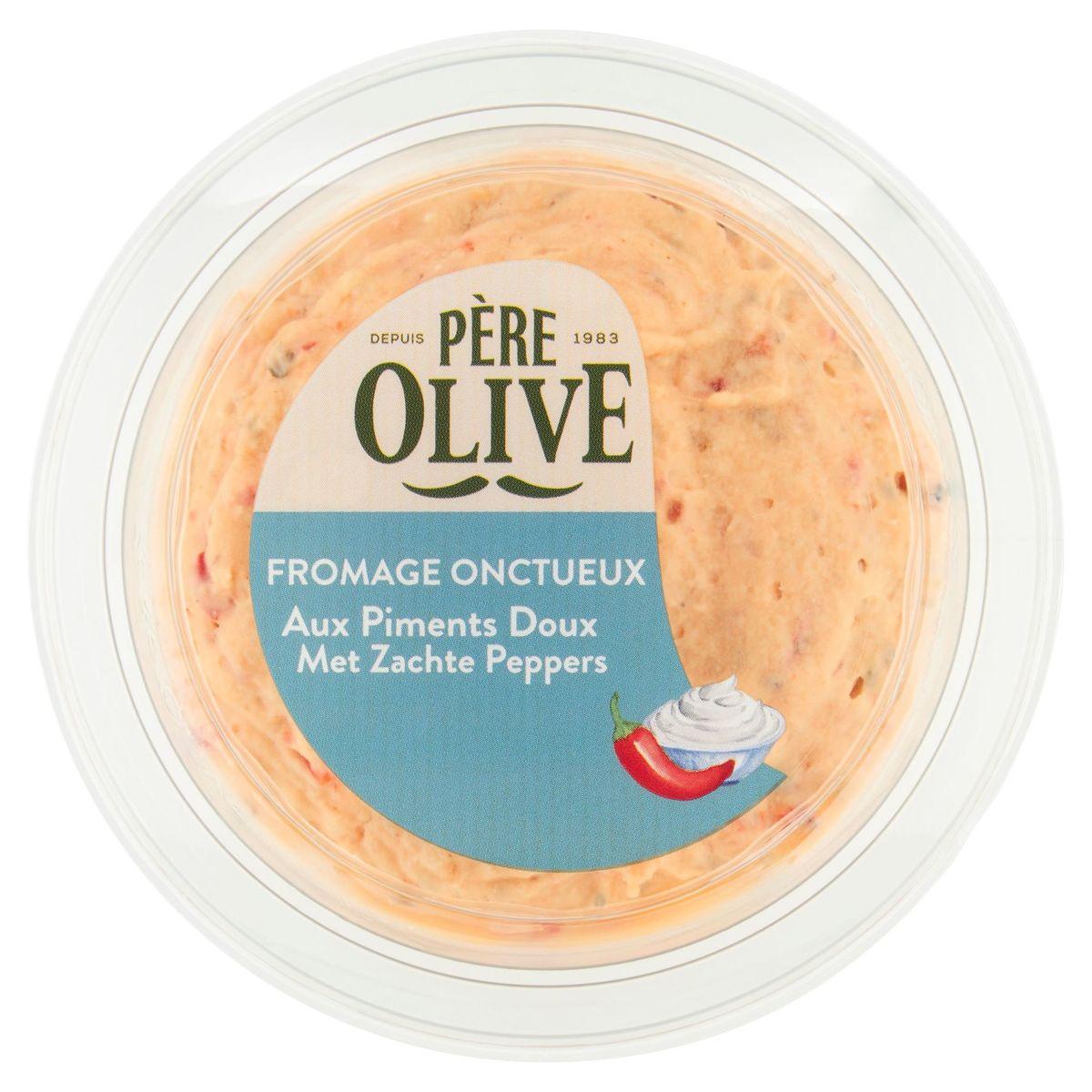 Père Olive Fromage Onctueux aux Piments Doux 175 g