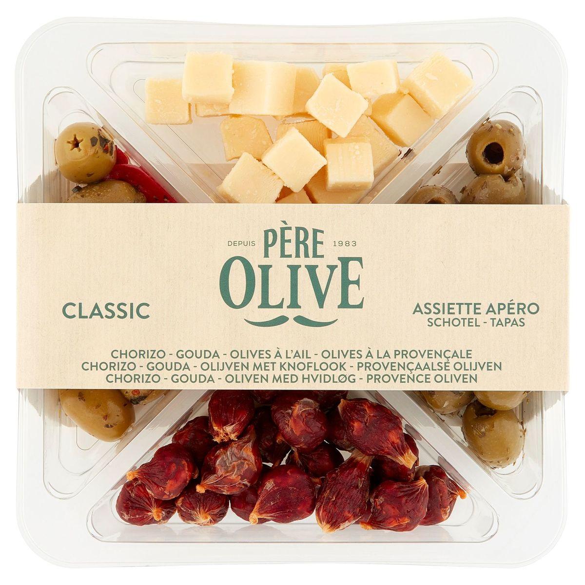 Père Olive Classic Assiette Apéro 255 g