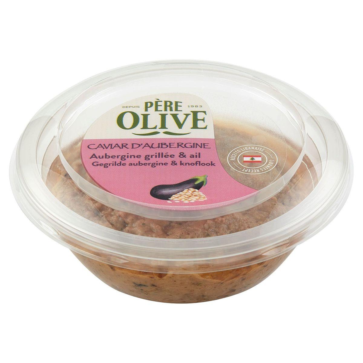 Père Olive Caviar d'Aubergine Grillée & Ail 175 g
