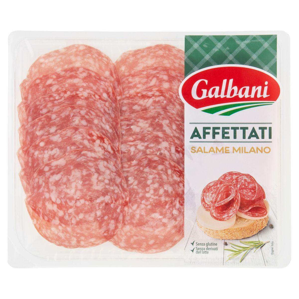 Galbani Affettati Salame Milano 100 g