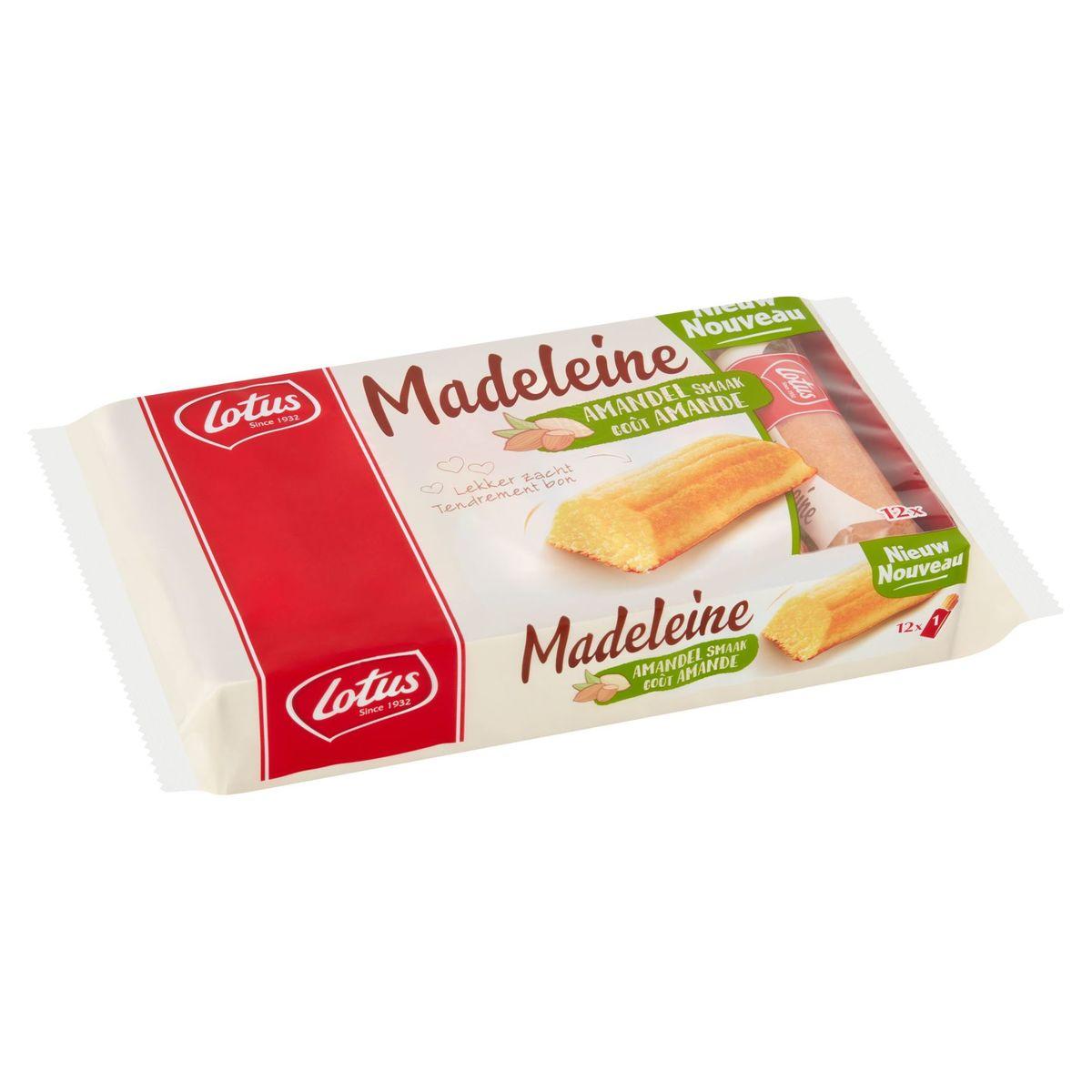 Lotus Madeleine Goût Amande 12 x 25 g