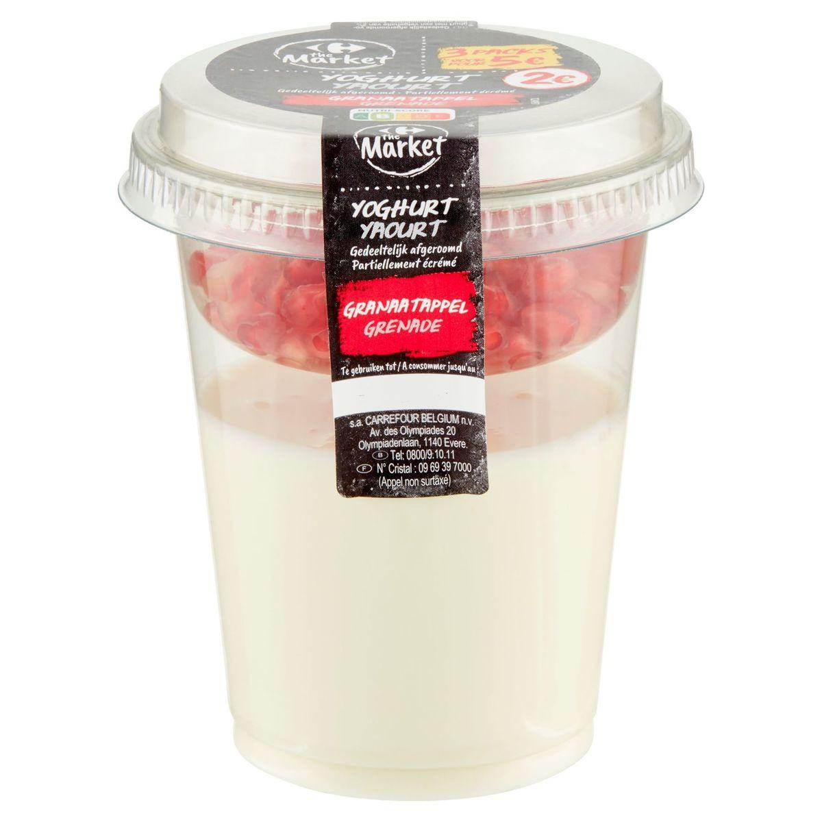 Carrefour The Market Yoghurt Granaatappel 220 g