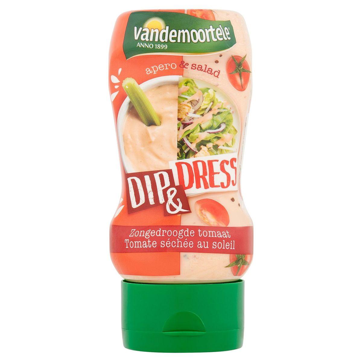 Vandemoortele Apero & Salad Dip & Dress Zongedroogde Tomaat 250 ml