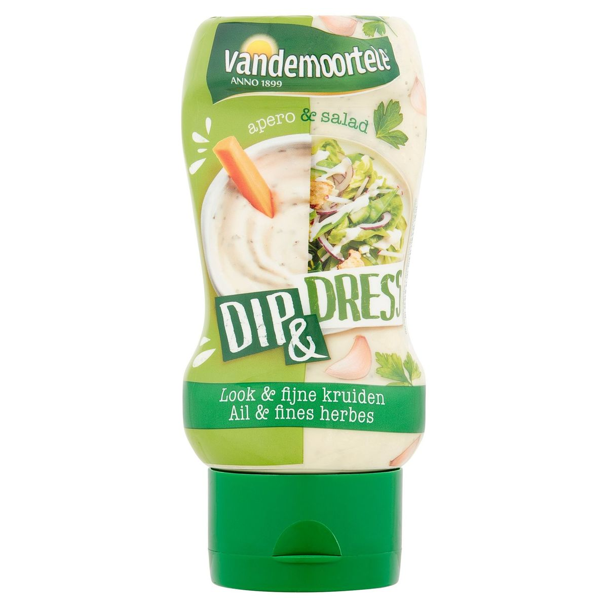 Vandemoortele Apero & Salad Dip & Dress Ail & Fines Herbes 250 ml