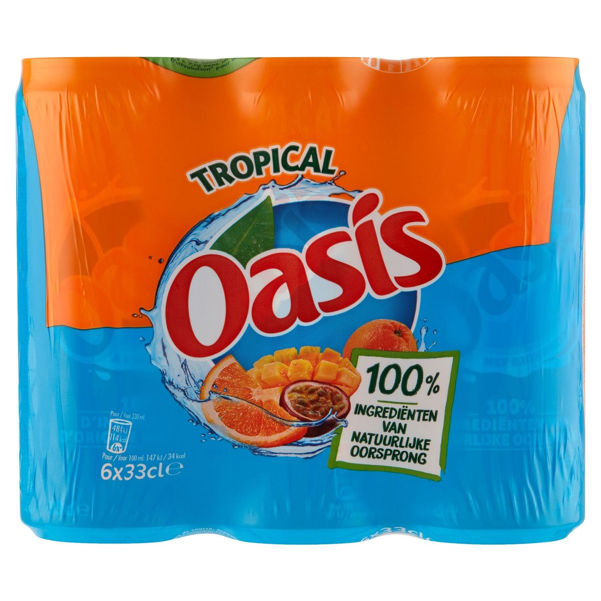 Oasis Tropical 6 x 33 cl