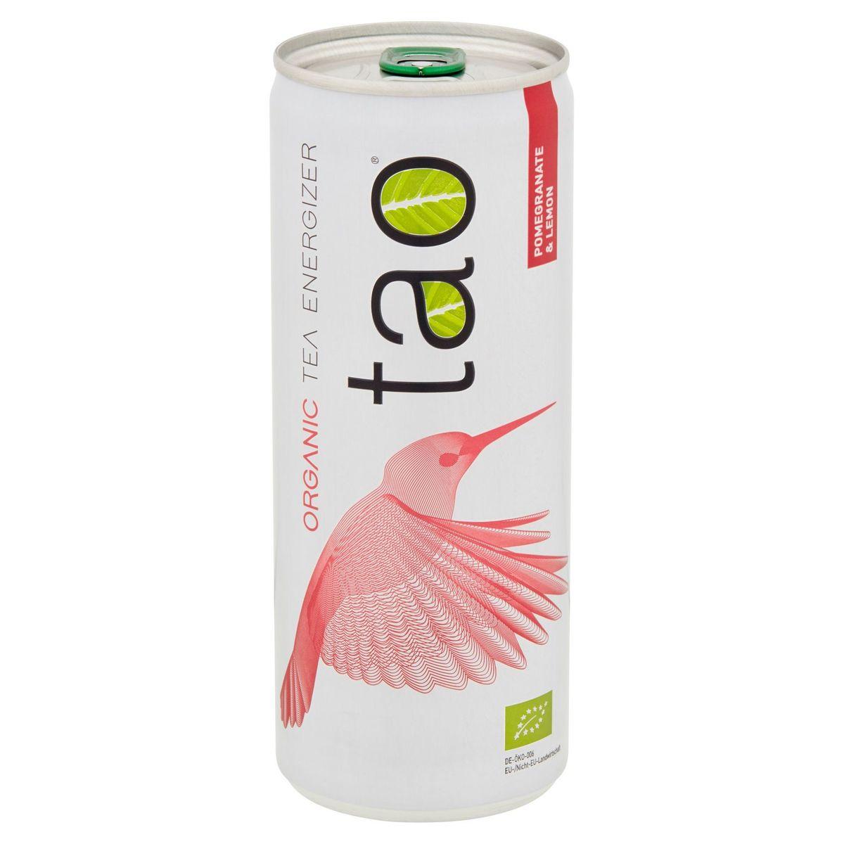 Tao Organic Tea Energizer Pomegranate & Lemon 250 ml
