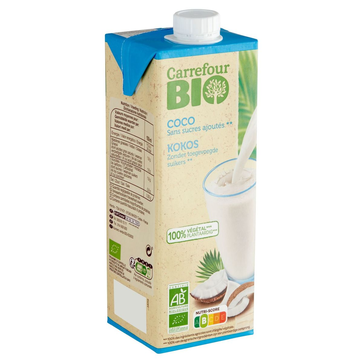 Carrefour Bio Coco 1 L