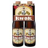 Pauwel Kwak Flessen 4 x 33 cl