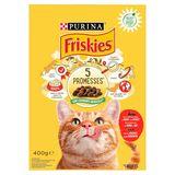 FRISKIES Kattenvoer Adult Rund en Groenten 400 g