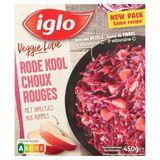 Iglo Veggie Love Rode Kool met Appeltjes 450 g