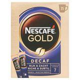 NESCAFÉ Koffie GOLD DECAF Zakjes 50 g