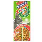 Vitakraft 2 x Crackers met groenten voor konijn 112 g