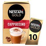 NESCAFÉ Café CAPPUCCINO Standard Sachets 140 g