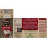 NESCAFÉ Koffie CAPPUCCINO Standard Zakjes 140 g