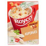 Royco Crunchy Asperges 3 x 20 g
