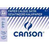 Canson 12 Papier Calque A4 Satin