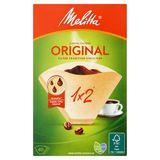 Melitta 1 x 2 Original Koffiefilters 40 Stuks