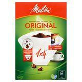 Melitta 1 x 4 Original Koffiefilters 80 Stuks + 1 Zakje Ontkalker 20 g