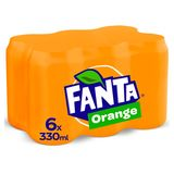 Fanta Orange 6 x 330 ml