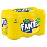 Fanta Lemon 6 x 330 ml