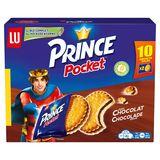 LU Prince Pocket Goût Chocolat 10 x 40 g