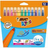 Bic Kids 12 Stylos Feutre Couleur XL