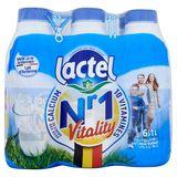Lactel Nr 1 Vitality Lait Demi-Écrémé 1.5% M.G. 6 x 1 L