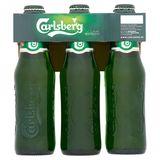 Carlsberg Copenhagen Premium Beer Bouteilles 6 x 250 ml
