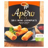 Mora Apéro Mini Loempia's Végétarien 18 x 20 g avec Sauce 2 x 25 g