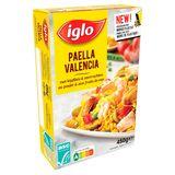 Iglo Paella Valencia met Kipfilets en Garnalen 450 g