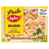 Iglo Macaroni Jambon et Fromage 450 g